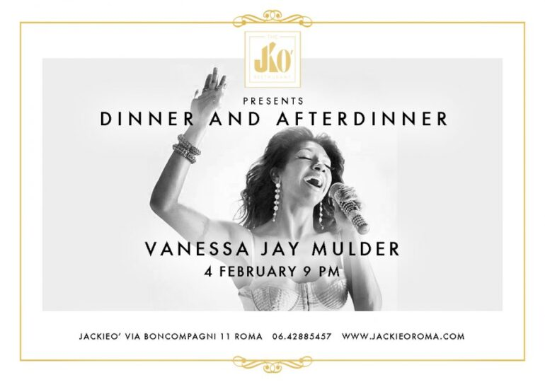 Dinner with Vanessa Jay Mulder