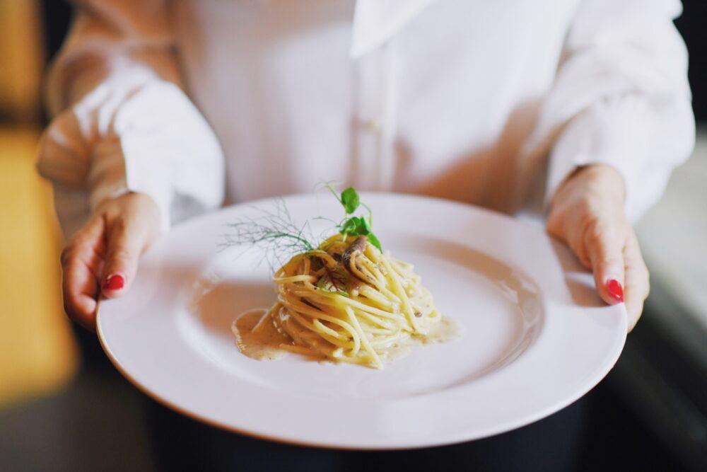 spaghetti burro e alici roma