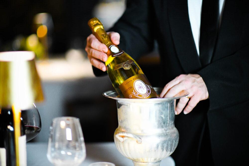 champagne roma jackie o
